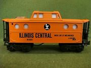 Lionel 6-9160 Illinois Central Lighted Caboose 1971 Nos