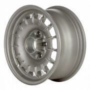 65133 Refinished Mercedes Benz 240d 1977-1978 14x6.5 Wheel, Rim Painted Silver