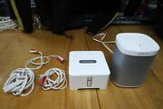Sonos Play 1 Compact Wireless Speaker And Connect Wifi Digital Media Streamer