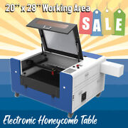 New 80w Laser Cutting Engraving Machine 500700 Mm With Rdworks 20 X 28