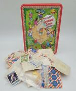 Thriftchi Cracker Jack Tin W Lots Of Toy Premiums
