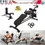 Multi-use Dumbbell Bench Fitness Chair Home Supine Board With Drawstring 💪
