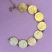 2 1/2 Gold Indian Head Us Gold Coin Bracelet American