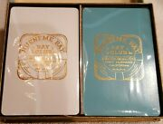 Port Hueneme Bay Club Playing Cards W Box In Cello Sealed Tax Stamps