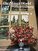 The Flower World Of Williamsburg By Joan Parry Dutton 1973, Illustrated Revised