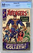 Avengers 28 Cbcs 5.0 1966 1st App. The Collector