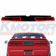 Led Smoke Tail Light Lamp And Sequential Indicator For 2008-2014 Dodge Challenger