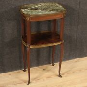 Side Table étagère Furniture Antique Style Table Marble Top 20th Century 900