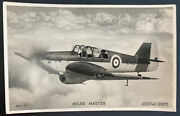 Mint England Valentines Picture Postcard Royal Air Force Raf Miles Master