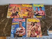 Vintage Muscle And Fitness Magazine Lot Qty 5 Joe Weider 1983 And 1985 Strong Arms