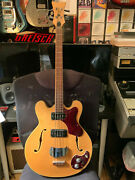 Mosrite Celebrity-1 Bass 1968 Flame Maple Extremely Rare
