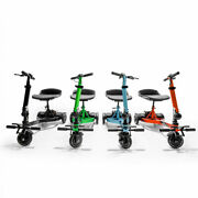 New Iride Pride 3-wheel Light Mobility Scooter - With Phone Holder