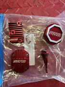 Honda Xr Crf 50 Sano Red Engine Cover Dress Up Kit Discontinued Rare