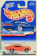 Hot Wheels Orange 1970 Plymouth Road Runner 1998 First Edtions Uncirculated 164