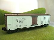 Lionel Automatic Refrigerated Milk O And O27 Scale 36621 Clean Working Train Car