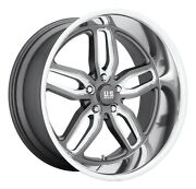 Cpp Us Mags U129 C-ten Wheels 20x8.5 + 20x10 Fits Chevy Impala Chevelle Ss
