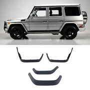 4pcs New Fender Flare Wheel Trim For Mercedes Benz G-class W463 G65 Style 90-17