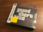 Grand Theft Auto Collectors' Edition Ps1, 2002 - New, Sealed, Near Mint