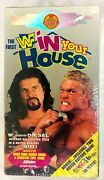 Wwf In Your House 1 Vhs,1995 Limt'd Release W Collectible Picture Cards New