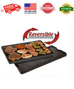 Camp Chef Pre Seasoned Cast Iron Reversible Griddle And Grill Accessory, Cgg24b