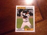 2015 Burlington Bees Choice Single Cards You Pick From List 1-3.50 Each Obo