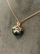 Welsh Clogau 18ct Rose Gold Tree Of Life Tahitian Pearl Pendant 22 Andpound300 Off