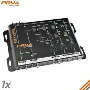 Prv Ex3.5 Stereo 3 Way Electronic Crossover 2/4 In 6 Rca Output 9v Rms Car Audio