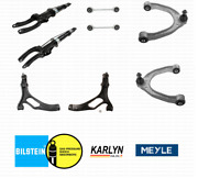 Front Shock Absorbers + Sway Bar Links + Control Arms For Porsche Cayenne