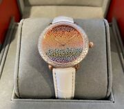 New Michele Serein Carousel Pave Rainbow Dial Mww21b000146 Limited Ladies Watch