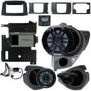 Rockford Fosgate Rzr14-stg3 Stereo Subwoofer And Front Speakers For Polaris Rzr