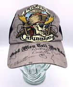 Disney Pirates Of The Caribbean Embroidered Dead Men Tell No Tales Cap Hat