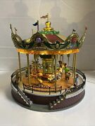 2011 Lemax Sunshine Carousel Sights And Sounds Retired 14325