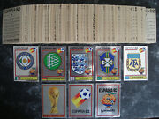 Panini World Cup 82 Complete Sticker Set 1982