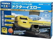 Used Tomix N Scale 90160 Basic Set Sd Doctor Yellow Model Train Fine Track Tomy