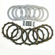Clutch Plates Kit For Yamaha Xvs650 V-star 650 Classic 98-11 Motorcycle Parts