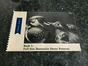 Blue Ribbon Pattern Series Book 1 Full Size Decoy Patterns By William Veasey
