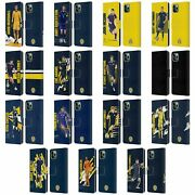 Scotland National Team Players Leather Book Wallet Case For Apple Iphone Phones