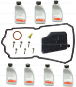 Auto Trans Oil+filter+plug Seal+guide Tube+bolts+gasket For Mercedes Ml Class