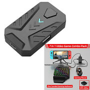For Ps3 Ps4 Ps5 Xbox One/360 Switch Adapter Keyboard Mouse Video Game Converter