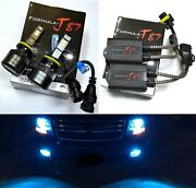 Led G8 Canceler 893 8000k Icy Blue Bulbs Fog Light Upgrade Replacement Stock Fit