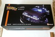 Rare Kids Logic Back To The Future Ii Floating Magnetic Delorean Bttf