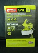 Ryobi One+ 18 Volt P2850 Cordless Chemical Fogger Mister + Battery And Charger Nib