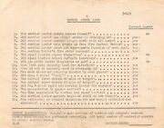 Wwii Shooting Range Umpire Checklist Pacific Theatre Soldierand039s Training Document