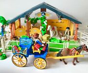 Playmobil Horses And Pony Ranch 3120 Playset Barn Stall Accessories Not Complete