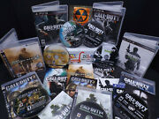 Ps3 Call Of Duty Collection Black Ops 1+2 Modern Warfare 123ghosts Duty3