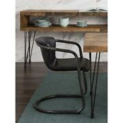 Moeand039s Home Collection Freeman Dining Chair In Antique Black Set Of 2