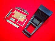 💥1977 Datsun 620 Center Console W/ Mounting Brackets Screws And Trans Cover Plate
