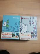 Super Rare Fun Moomin Family Dvd Box Top And Bottom Volume From Japan Anime