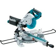 Makita Single Bevel Sliding Compound Miter Saw Electric 8 1/2 Inch Corded Led