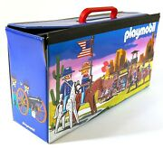 Vintage Playmobil Wild West Carry Case Forty Four 44 Limited O950